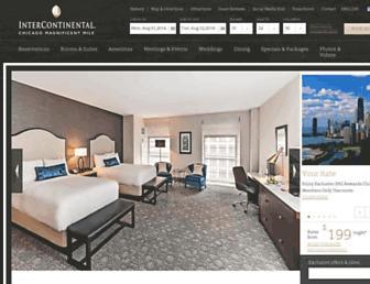 icchicagohotel.com screenshot
