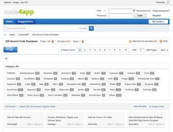 Thumbshot of Code4app.net