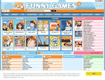 funnygames.co.uk screenshot