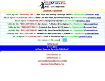 djmob.ga screenshot