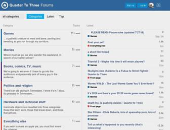 forum.quartertothree.com screenshot