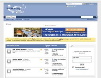 Thumbshot of Webhostingtalk.com.au