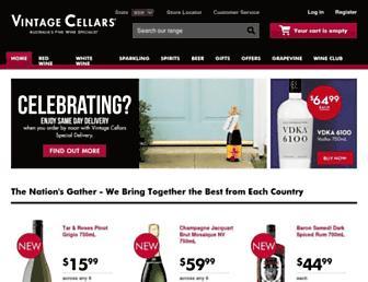 Thumbshot of Vintagecellars.com.au