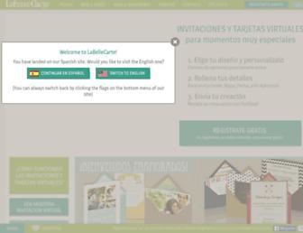 labellecarte.com screenshot