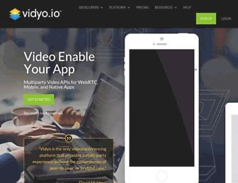 vidyo.io screenshot