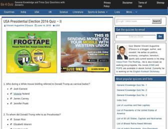 Thumbshot of Go4quiz.com
