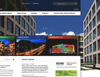 echo.com.pl screenshot