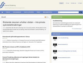 svenskforsakring.se screenshot