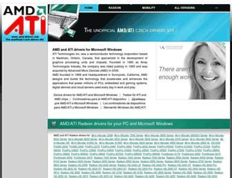 Thumbshot of Amd-drivers.com