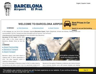 Thumbshot of Barcelona-airport.com