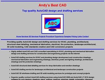 andysbestcad.com screenshot