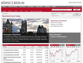 Thumbshot of Boerse-berlin.com