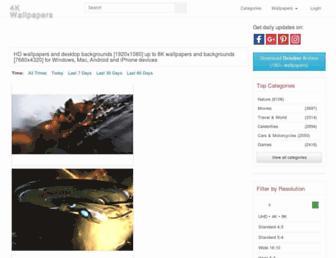 free4kwallpapers.com screenshot