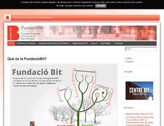 Main page screenshot of ibit.org