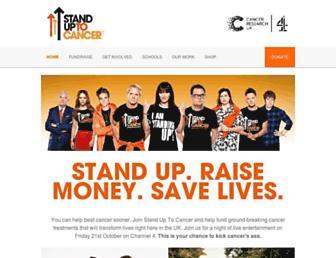 Thumbshot of Standuptocancer.org.uk