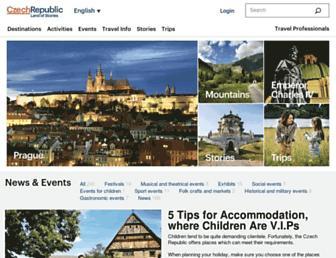 Thumbshot of Czechtourism.com