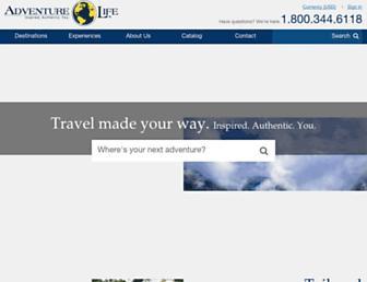 adventure-life.com screenshot