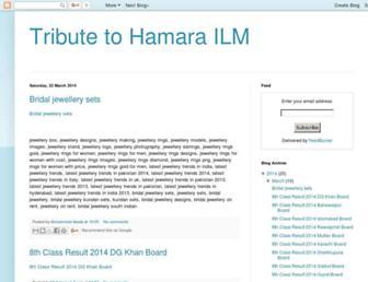 hamarailm.blogspot.com screenshot