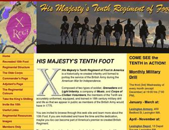 redcoat.org screenshot
