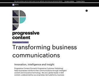 progressivecontent.com screenshot