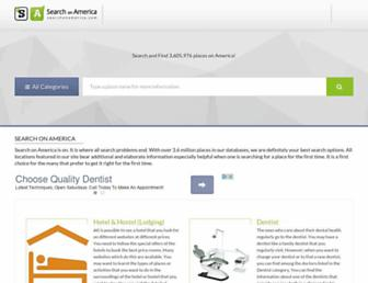 searchonamerica.com screenshot