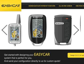 easycaralarm.com screenshot