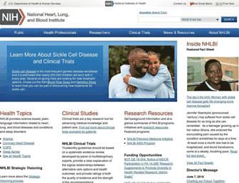 nhlbi.nih.gov screenshot
