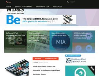 Thumbshot of Webdesignandsuch.com