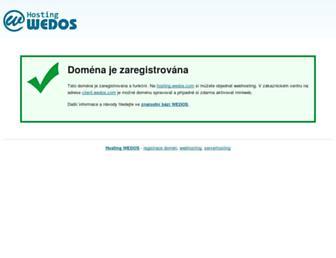 Main page screenshot of topodkazy.cz