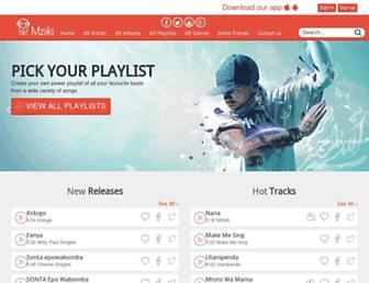 mziiki.com screenshot