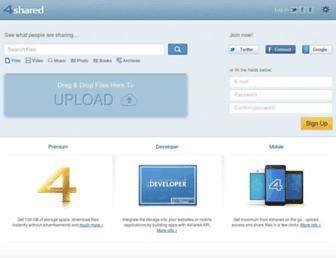 Thumbshot of 4shared-china.com