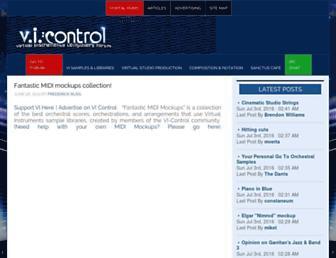 vi-control.net screenshot