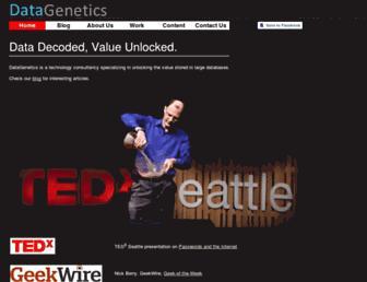 datagenetics.com screenshot