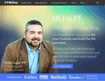 ptmoney.com screenshot