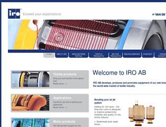 iroab.com screenshot