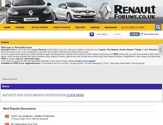 Thumbshot of Renaultforums.co.uk