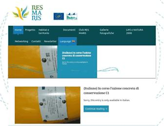 resmaris.eu screenshot