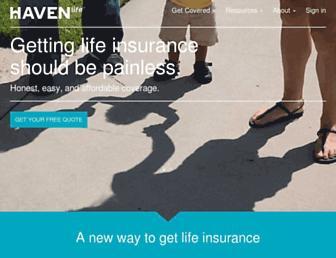 havenlife.com screenshot