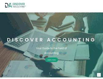 discoveraccounting.org screenshot
