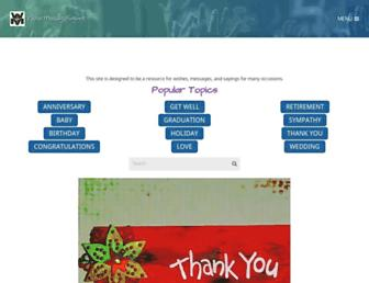 wishesmessagessayings.com screenshot
