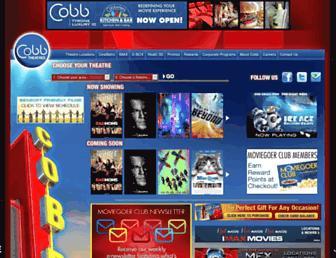 cobbtheatres.com screenshot