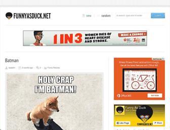 Thumbshot of Funnyasduck.net