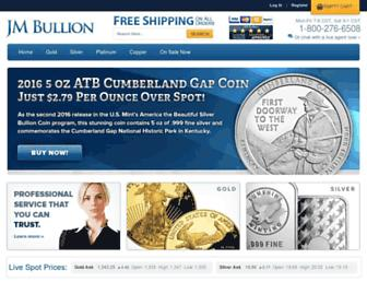 Thumbshot of Jmbullion.com