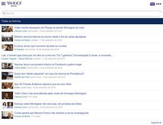 br.esporteinterativo.yahoo.com screenshot