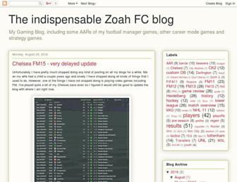 zoahfc.blogspot.com screenshot