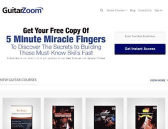 guitarzoom.com screenshot