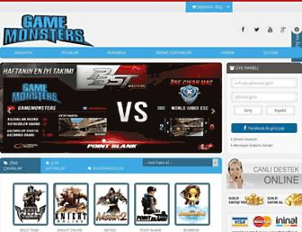 gamemonsters.org screenshot