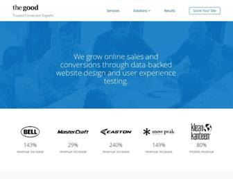 thegood.com screenshot