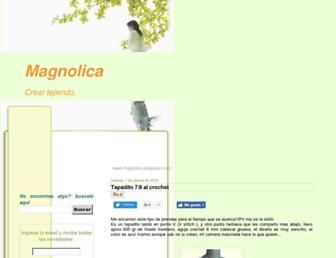 magnolica.blogspot.com screenshot