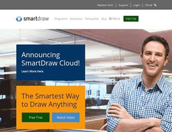 smartdraw.com screenshot